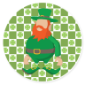 St. Patrick's Day #116921 - Promotional Coasters