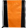 Black - Orange - Drawstring, Draw, String, Back, Backpack, Backpacks, Tote, Bags, Tote, Bag, Shopper, Shopping, Budget, Totebag, Totebags;
