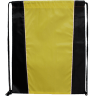 Black - Yellow - Drawstring, Draw, String, Back, Backpack, Backpacks, Tote, Bags, Tote, Bag, Shopper, Shopping, Budget, Totebag, Totebags;