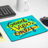 Fluorescent Neon Custom Printed Large Mouse Pads - Mouse, Pad, Pads, Mouse Pads, Mouse Pad, Computer, Tech