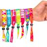 01Fluorescent Neon Full Color Cloth Wristbands - Cloth Wristbands