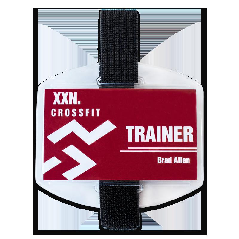 Armband Badge Holder With Elastic Cord