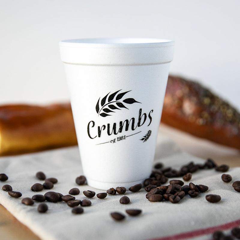 Custom 12 Oz. Foam Cups