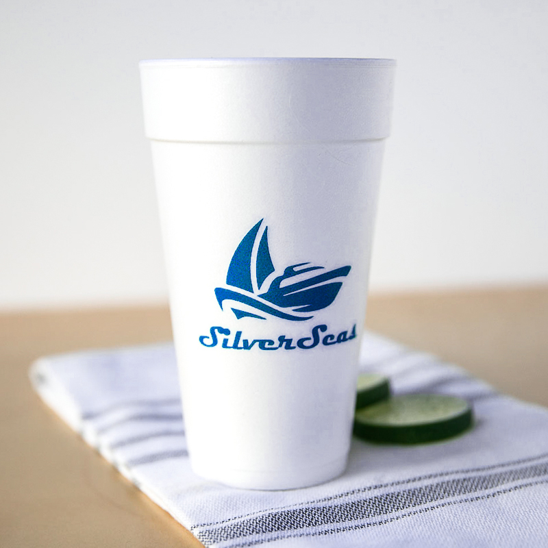 Custom 20 Oz. Foam Cups