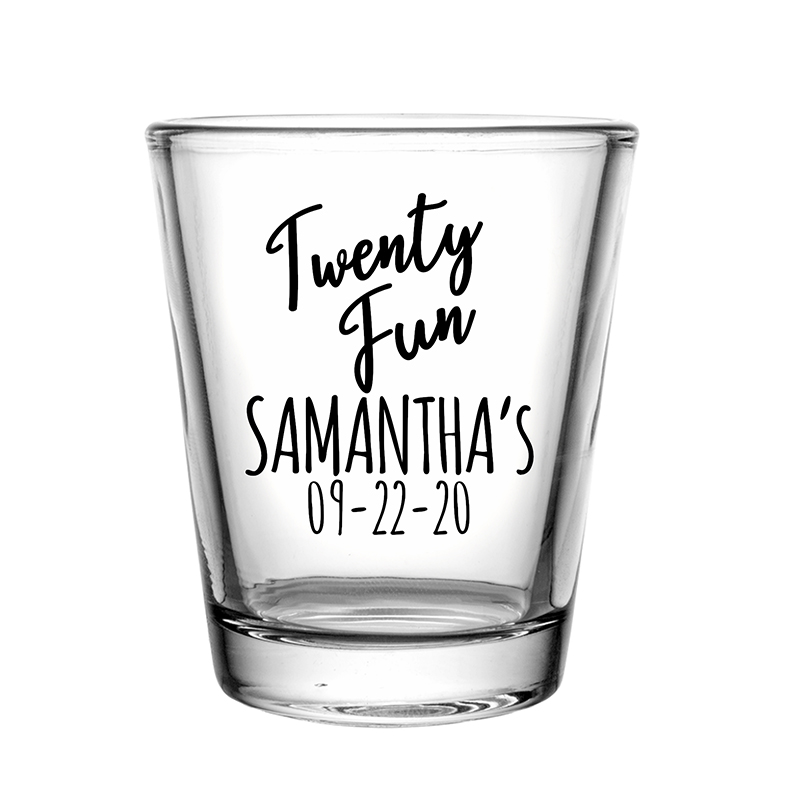 Custom Clear Shot Glasses- 1.75 Oz.
