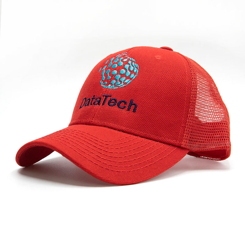 Custom Embroidered Mesh Back Trucker Hats