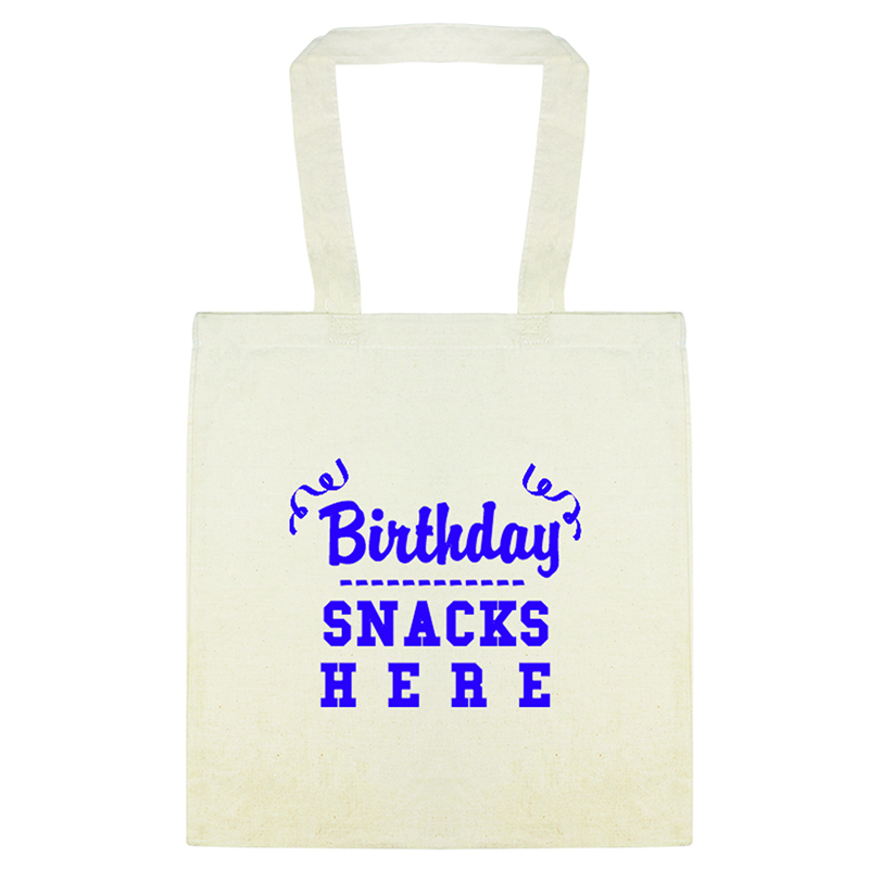 Custom Everyday Cotton Tote Bags