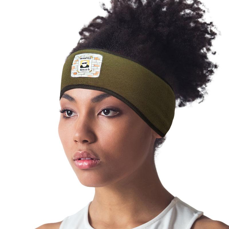 Dark Green Headband Dark Sage Ear Warmer Headband