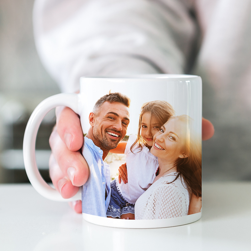 Full Color Photo Mugs 11oz