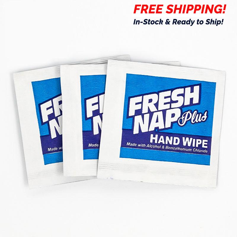 Moist Towelette Hand Sanitizer Wipes