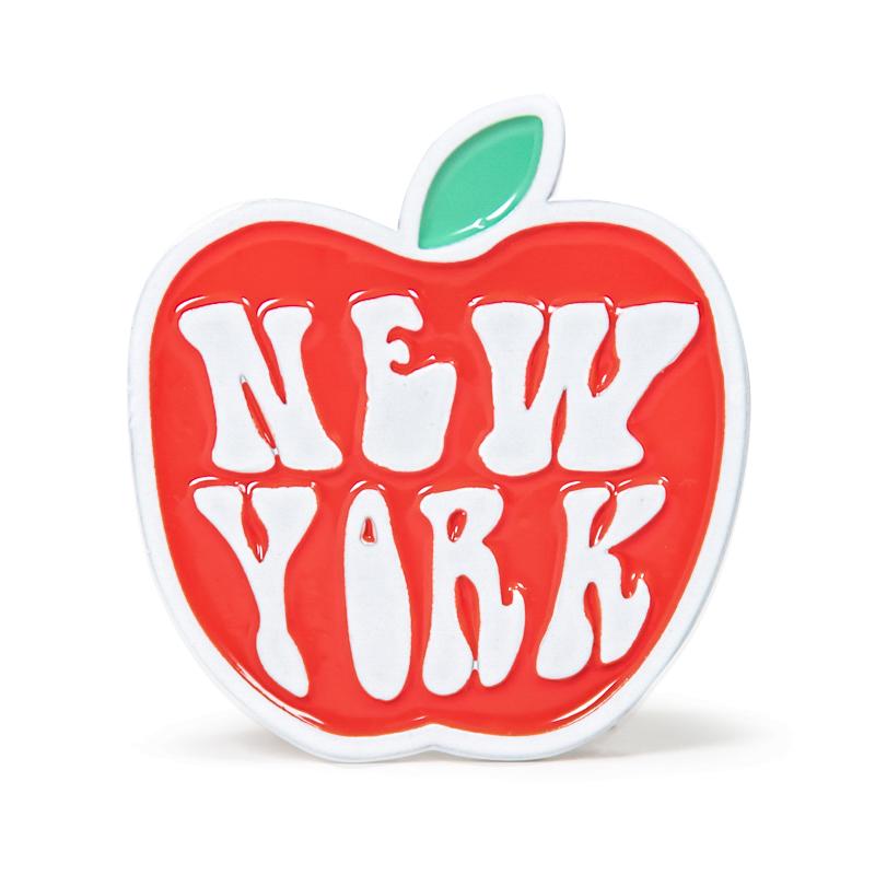 New York Apple Stock Lapel Pins