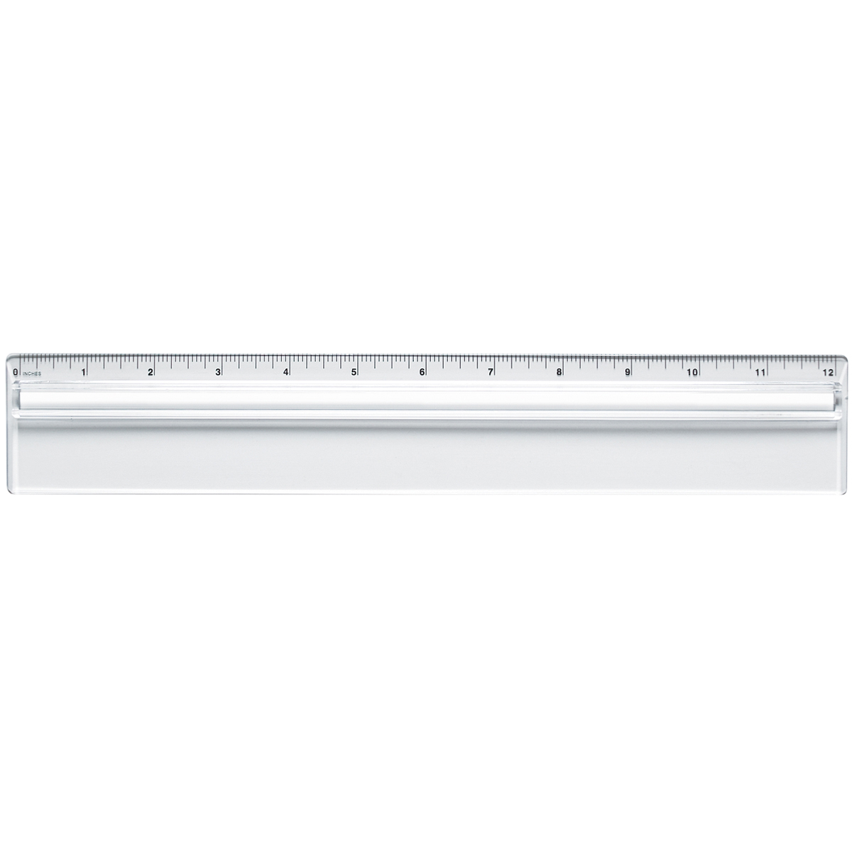 Plastic Ruler With Magnifying Glass 12