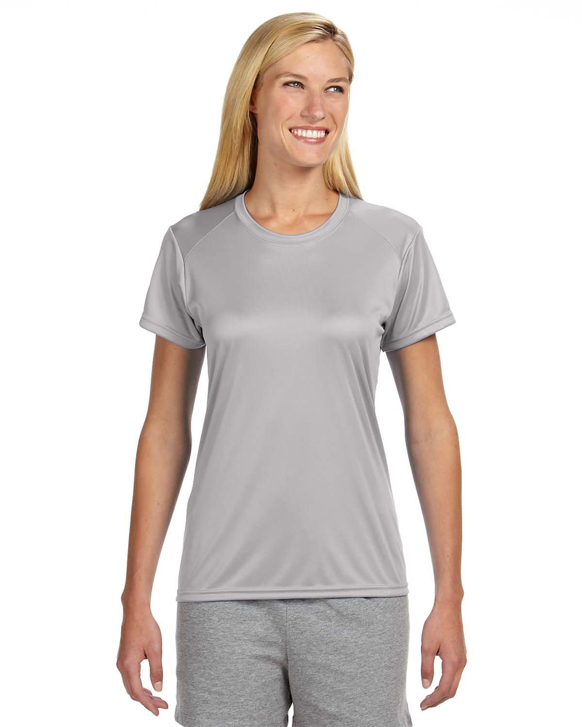 A4 Ladies Short-Sleeve Cooling Performance Crew